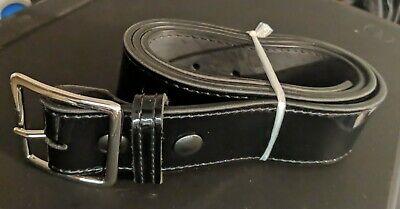 Size 36 Black Nickel Buckle: B52-36 Gould /& Goodrich B52 Garrison Belt