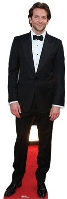 Bradley Cooper LIFESIZE CARDBOARD CUTOUT STANDEE STANDUP Actor Hollywood Star - Hollywood Star Cutouts