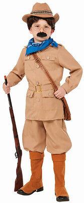 Theodore Teddy Roosevelt Boy's Costume Size Small 4-6 (Theodore Roosevelt Costume)
