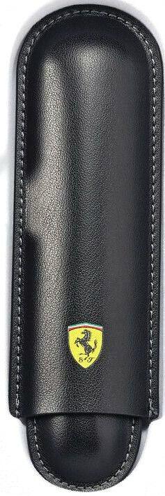 Cross Ferrari Two-Piece Slide Pen Case, Black, Full Grain Leather, Sheaffer Cases