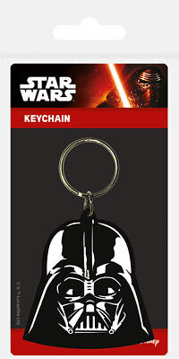 Star Wars (Darth Vader) Rubber Keychain Keyring NEW - FAST UK DISPATCH