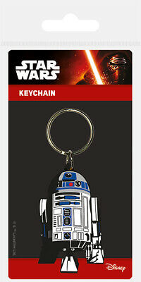 Star Wars (R2 D2) Rubber Keychain Keyring NEW - FAST UK DISPATCH
