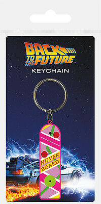 BACK TO THE FUTURE HOVERBOARD RUBBER KEYRING NEW OFFICIAL MERCHANDISE PYRAMID - Back To The Future Merchandise