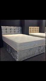 Divan bed set + free delivery!