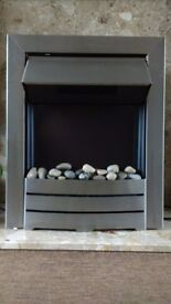 Adams Colorado 2000w Inset Electric Fire with pebble bed