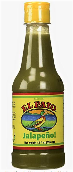 EL PATO Salsa Picante 'Jalapeno' Picante medium Hot Sauce 355 ml aus USA