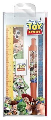 Toy Story Disney PIXAR Charaktere Offizielles Briefpapier Set Schule Bleistift L