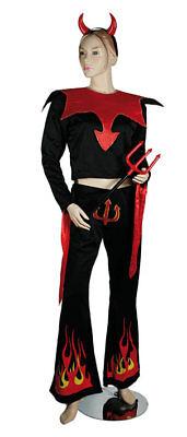 Sexy Teufel Kostüm in Gr. S ca. 36/38 - Gabel Kostüme