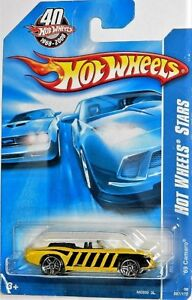 Hot Wheels 1/64 '69 Camaro Convertible Diecast Car