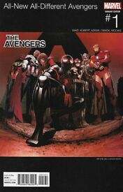 All New/All New Avengers (HipHop variant cover) #1 - 2016