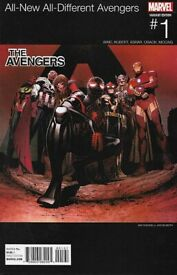 All New/All Different Avengers (Hip Hop Variant Cover) #1 - 2016 (2ND COPY)