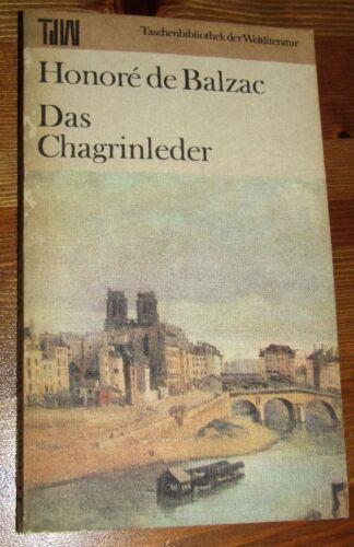 Honoré de BALZAC Das Chagrinleder 1986 TdW Taschenbuch der Weltliteratur AUFBAU