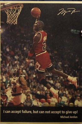 45d46d13fe8 Paper Michael Jordan Chicago Bulls Retro Wall Decor Poster Man Cave NBA Game