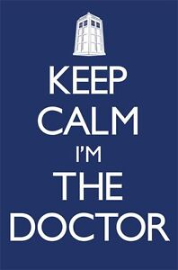 KEEP-CALM-IM-THE-DOCTOR-91-5-X-61CM-DOCTOR-WHO-POSTER-NEW-OFFICIAL-MERCHANDISE