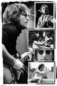 JOHN-LENNON-POSTER-COLLAGE-LICENSED-BRAND-NEW-THE-BEATLES