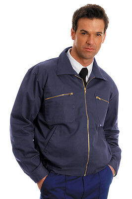 D-max Heavyweight Drivers/ Work Jacket - Zip Front - Side & Breast Pockets ()