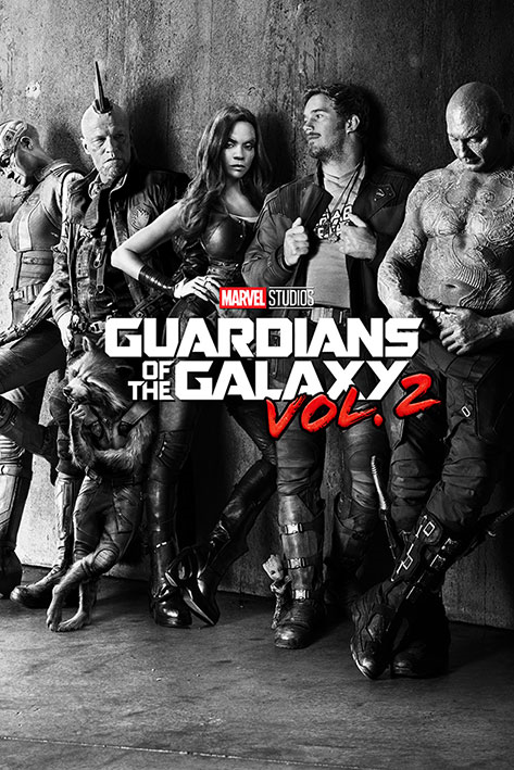 GUARDIANS OF THE GALAXY - VOLUME 2 POSTER - 24x36 MARVEL MOV