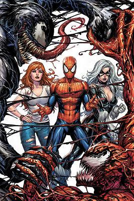 "SPIDER-MAN - MARVEL COMICS POSTER / PRINT (VENOM VS. CARNAGE) (SIZE: 24"" x 36"")"