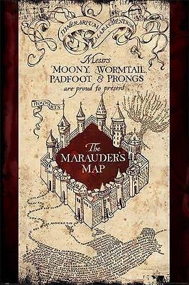 NEW * MARAUDERS MAP * HARRY POTTER  MAXI POSTER 62cm X 91cm  ...no62