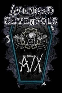 AVENGED-SEVENFOLD-POSTER-COFFIN-LICENSED-BRAND-NEW-61cm-X-91-5cm