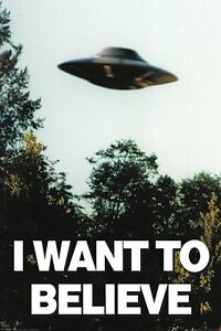 THE X-FILES (I WANT TO BELIEVE) - Maxi Poster 61cm x 91.5cm PP33840 - 331