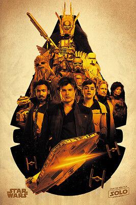 Solo A Star Wars Story (Millennium Falcon Maxi Poster 61cm x 91.5cm PP34309 -367