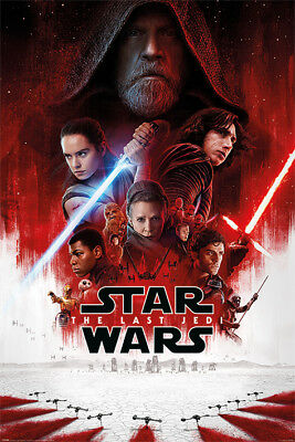 "STAR WARS: EPISODE VIII - THE LAST JEDI - MOVIE POSTER (REGULAR) (27"" x 40"")"