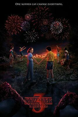 STRANGER THINGS - SEASON 3 POSTER - 24x36 - TV 160810