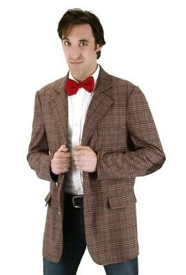Doctor Who Adult Mens Eleventh Doctor Costume Jacket Small/ Medium Elope - Eleventh Doctor Costume