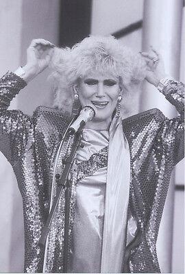 Foto amerikanische Sängerin DUSTY SPRINGFIELD - Aufnahme von 1985 Pressefoto USA