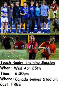 FREE - Co-Ed Touch Rugby Training Session (19+)