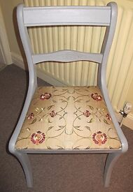 Attractive restored occasional chair