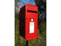 CAST IRON PILLAR OR WALL MOUNTED POST BOXES ER & IRISH BOXES