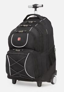 Brand New Swiss Gear Carry-On Sized 2-Wheeled Laptop Backpack