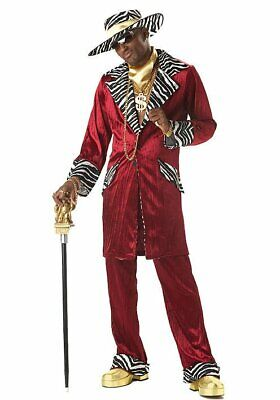Pimp Daddy Costume Mens (California Costumes Collections 00819 Men's Sweet Daddy Beaujolais Pimp)