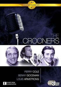 Legends In Concert - The Crooners  (DVD, 2010, 3-Disc Set, Viewed once)