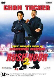 Rush Hour 02 DVD, 2002 ( NEW ) Jackie Chan, Chris Tucker Comedy SEALED