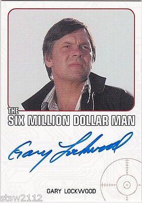 THE COMPLETE BIONIC COLLECTION GARY LOCKWOOD JOHN HOPPER AUTOGRAPH VL 6 MILLION  ()