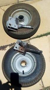"""Bulldog folding trailer spare 10"""" wheel and assembly Canning Vale Canning Area Preview"""