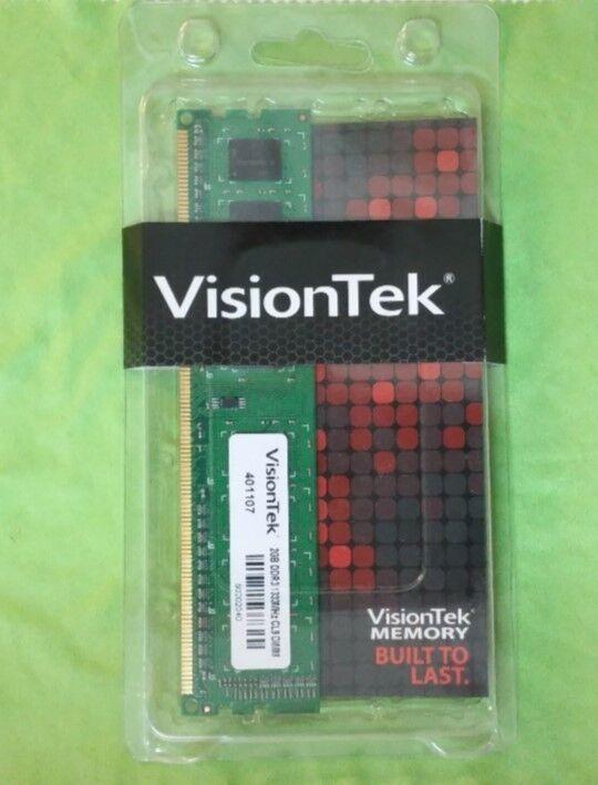 VisionTek Performance SFF 2GB PC3-10600 DDR3 Desktop Memory FFHT1514QS