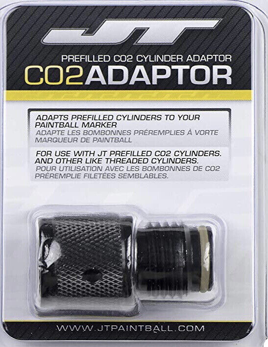 NEW JT 90g Pre-Filled Co2 Adapter Paintball    D