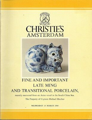 CHRISTIE'S Ming Chinese Porcelain Shipwreck Hatcher Collection 3 Vols Compl Set