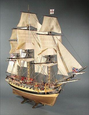 Shipyard 66: Fregatte HMS Mercury  1:96 mit Lasercutteilen