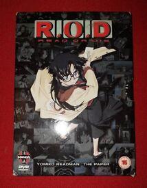 R.O.D (Read or die) Anime Film