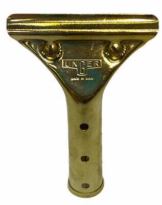 Unger Golden Clip Brass Squeegee Handle- Handle Only U-gs000