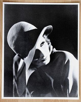 1 altes Silber Gelantine SW Kino Film Foto Handabzug Greta Garbo Klassik