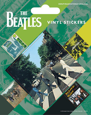 The Beatles (Abbey Road) Vinyl Stickers *OFFICIAL PRODUCT*