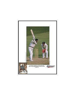 Gary Sobers signed limited edition print