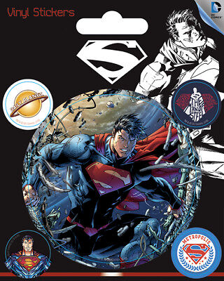 DC Comics (Superman) Vinyl Stickers *OFFICIAL PRODUCT*