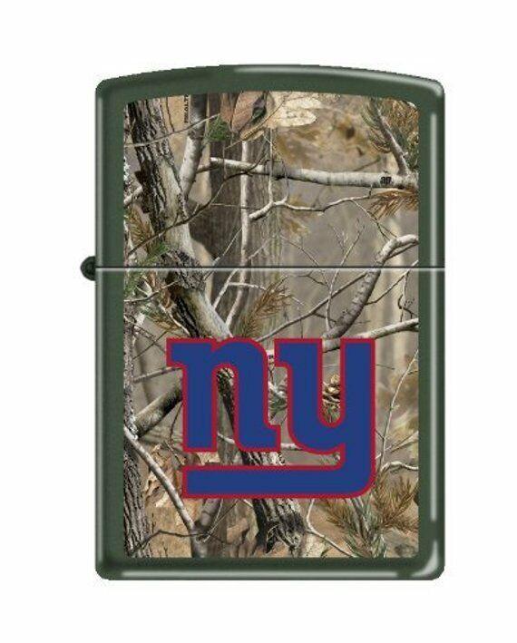 Retired New York Giants Realtree Camo Zippo Lighter